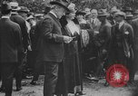 Image of President Woodrow Wilson at the first regular air mail service ceremon United States USA, 1918, second 60 stock footage video 65675071735