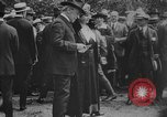 Image of President Woodrow Wilson at the first regular air mail service ceremon United States USA, 1918, second 61 stock footage video 65675071735