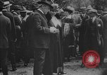 Image of President Woodrow Wilson at the first regular air mail service ceremon United States USA, 1918, second 62 stock footage video 65675071735