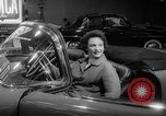 Image of international automobile show New York United States USA, 1959, second 12 stock footage video 65675071750