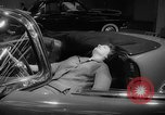 Image of international automobile show New York United States USA, 1959, second 15 stock footage video 65675071750