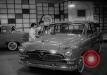 Image of international automobile show New York United States USA, 1959, second 30 stock footage video 65675071750