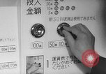 Image of automated railroad ticket machine Japan, 1967, second 25 stock footage video 65675071759