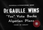 Image of Algerian plans France, 1962, second 1 stock footage video 65675071766