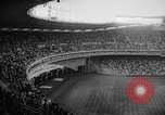 Image of President John F Kennedy attends opening baseball game at DC Stadium Washington DC USA, 1962, second 4 stock footage video 65675071771