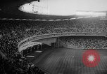 Image of President John F Kennedy attends opening baseball game at DC Stadium Washington DC USA, 1962, second 5 stock footage video 65675071771