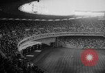 Image of President John F Kennedy attends opening baseball game at DC Stadium Washington DC USA, 1962, second 6 stock footage video 65675071771