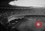 Image of President John F Kennedy attends opening baseball game at DC Stadium Washington DC USA, 1962, second 7 stock footage video 65675071771
