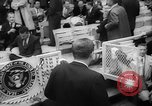 Image of President John F Kennedy attends opening baseball game at DC Stadium Washington DC USA, 1962, second 13 stock footage video 65675071771