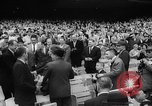 Image of President John F Kennedy attends opening baseball game at DC Stadium Washington DC USA, 1962, second 18 stock footage video 65675071771
