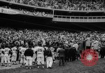 Image of President John F Kennedy attends opening baseball game at DC Stadium Washington DC USA, 1962, second 20 stock footage video 65675071771