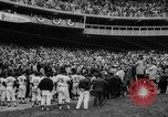 Image of President John F Kennedy attends opening baseball game at DC Stadium Washington DC USA, 1962, second 22 stock footage video 65675071771