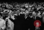 Image of President John F Kennedy attends opening baseball game at DC Stadium Washington DC USA, 1962, second 26 stock footage video 65675071771