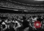 Image of President John F Kennedy attends opening baseball game at DC Stadium Washington DC USA, 1962, second 28 stock footage video 65675071771