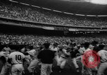 Image of President John F Kennedy attends opening baseball game at DC Stadium Washington DC USA, 1962, second 29 stock footage video 65675071771