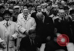 Image of President John F Kennedy attends opening baseball game at DC Stadium Washington DC USA, 1962, second 36 stock footage video 65675071771