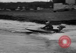 Image of Sammamish Slough Outboard Classic Seattle Washington USA, 1948, second 10 stock footage video 65675071774