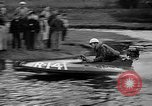 Image of Sammamish Slough Outboard Classic Seattle Washington USA, 1948, second 11 stock footage video 65675071774