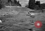 Image of Sammamish Slough Outboard Classic Seattle Washington USA, 1948, second 13 stock footage video 65675071774
