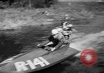 Image of Sammamish Slough Outboard Classic Seattle Washington USA, 1948, second 15 stock footage video 65675071774