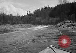 Image of Sammamish Slough Outboard Classic Seattle Washington USA, 1948, second 16 stock footage video 65675071774