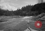 Image of Sammamish Slough Outboard Classic Seattle Washington USA, 1948, second 17 stock footage video 65675071774