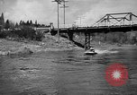 Image of Sammamish Slough Outboard Classic Seattle Washington USA, 1948, second 19 stock footage video 65675071774