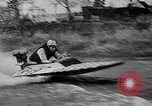 Image of Sammamish Slough Outboard Classic Seattle Washington USA, 1948, second 31 stock footage video 65675071774