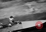 Image of Sammamish Slough Outboard Classic Seattle Washington USA, 1948, second 34 stock footage video 65675071774