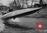 Image of Sammamish Slough Outboard Classic Seattle Washington USA, 1948, second 35 stock footage video 65675071774