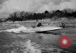 Image of Sammamish Slough Outboard Classic Seattle Washington USA, 1948, second 38 stock footage video 65675071774