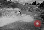 Image of Sammamish Slough Outboard Classic Seattle Washington USA, 1948, second 44 stock footage video 65675071774