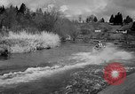 Image of Sammamish Slough Outboard Classic Seattle Washington USA, 1948, second 45 stock footage video 65675071774