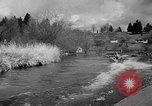 Image of Sammamish Slough Outboard Classic Seattle Washington USA, 1948, second 46 stock footage video 65675071774