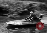 Image of Sammamish Slough Outboard Classic Seattle Washington USA, 1948, second 58 stock footage video 65675071774
