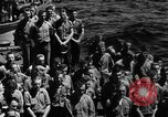 Image of burial Pacific Ocean, 1944, second 4 stock footage video 65675071812