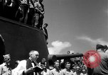 Image of burial Pacific Ocean, 1944, second 15 stock footage video 65675071812