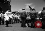 Image of burial Pacific Ocean, 1944, second 22 stock footage video 65675071812