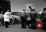 Image of burial Pacific Ocean, 1944, second 23 stock footage video 65675071812