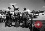 Image of burial Pacific Ocean, 1944, second 25 stock footage video 65675071812