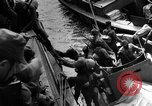 Image of Japanese amphibious assault on Pacific island Pacific Theater, 1941, second 5 stock footage video 65675071821