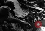 Image of Japanese amphibious assault on Pacific island Pacific Theater, 1941, second 6 stock footage video 65675071821
