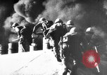 Image of Japanese amphibious assault on Pacific island Pacific Theater, 1941, second 11 stock footage video 65675071821