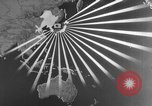 Image of Japanese amphibious assault on Pacific island Pacific Theater, 1941, second 21 stock footage video 65675071821
