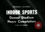 Image of Astrodome under construction Houston Texas USA, 1964, second 1 stock footage video 65675071844