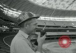 Image of Astrodome under construction Houston Texas USA, 1964, second 39 stock footage video 65675071844