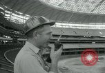 Image of Astrodome under construction Houston Texas USA, 1964, second 40 stock footage video 65675071844