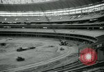 Image of Astrodome under construction Houston Texas USA, 1964, second 55 stock footage video 65675071844