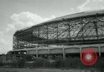 Image of Astrodome under construction Houston Texas USA, 1964, second 59 stock footage video 65675071844