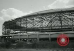 Image of Astrodome under construction Houston Texas USA, 1964, second 60 stock footage video 65675071844